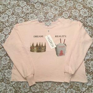 "Wildfox"" Dream"" vs ""Reality"" Sweatshirt"